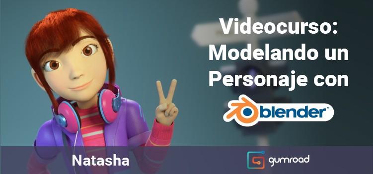 Videocurso Blender modelando un personaje 3D